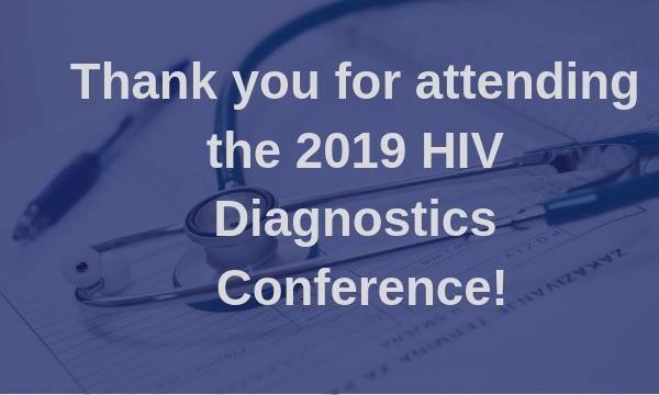 2019 HIV Diagnostics Conference